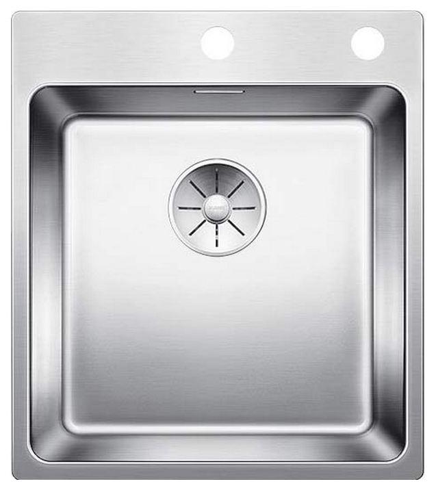 Мойка для кухни из нержавеющей стали Blanco Andano 400-IF-A 522993 сталь фото