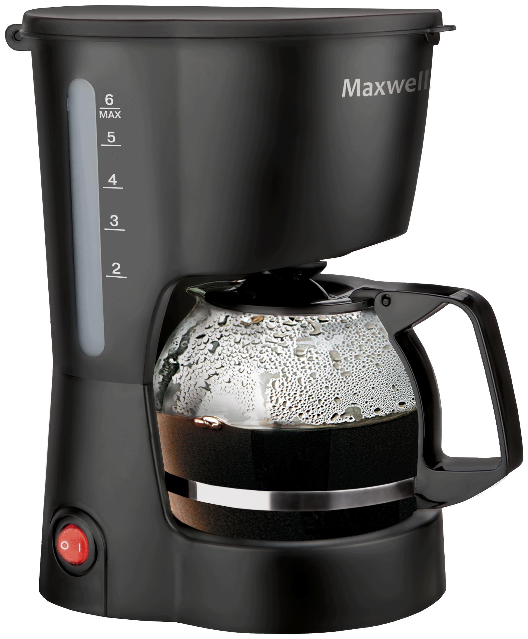 Кофеварка капельного типа Maxwell MW 1657