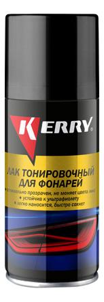 Лак для тонировки фар черный KERRY