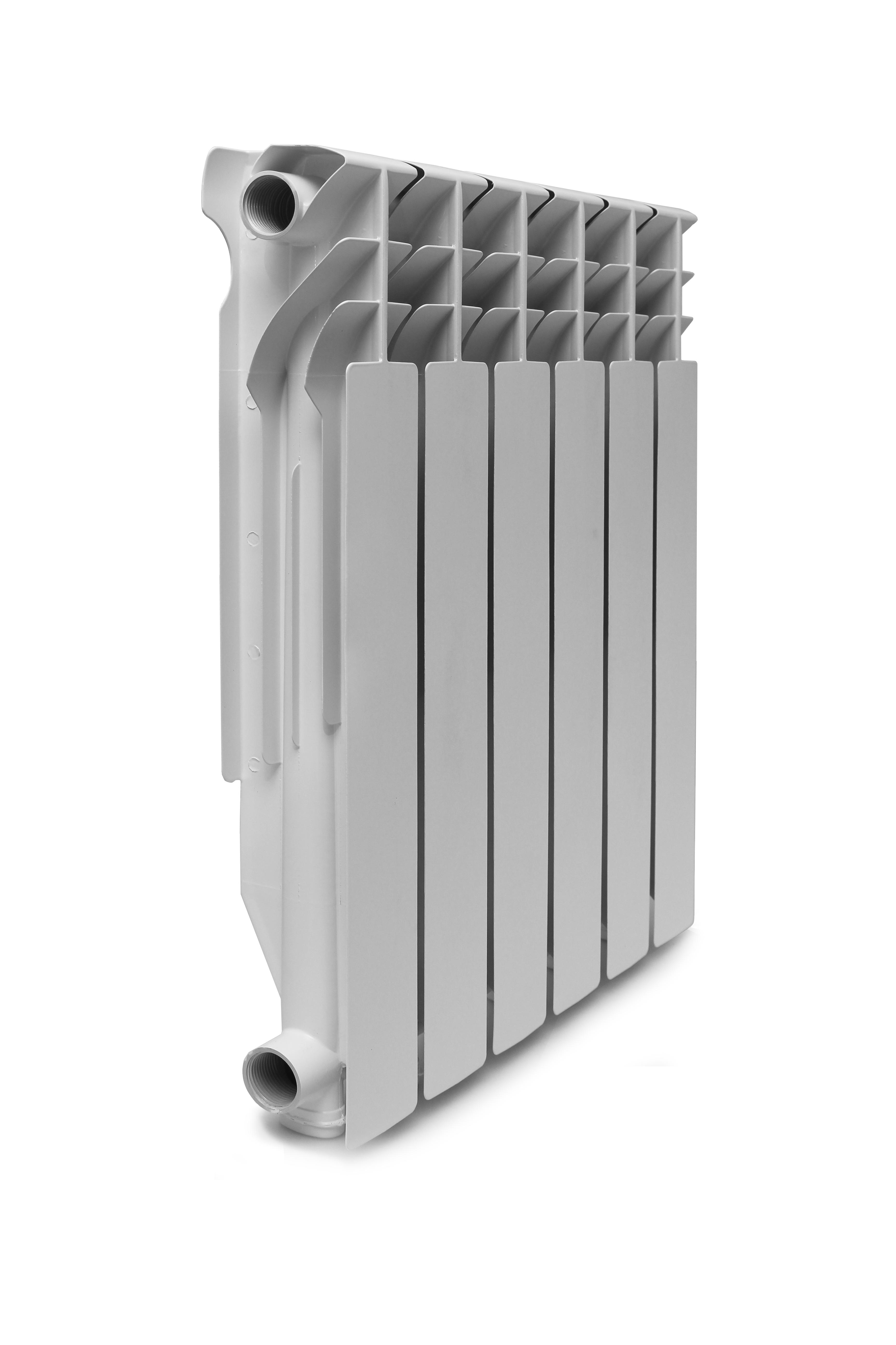 Радиатор алюминиевый KONNER LUX 500/80 12 6006081 фото