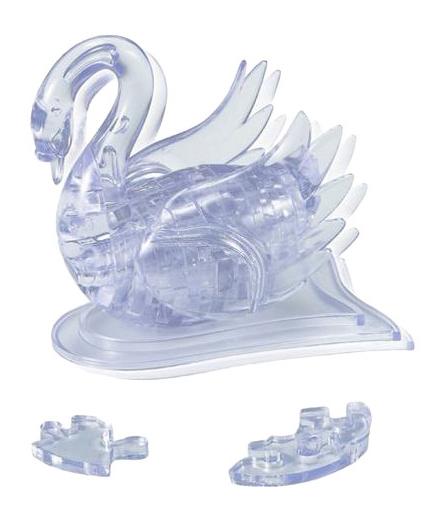 Купить Лебедь, 3D-пазл Crystal Puzzle 44 детали,