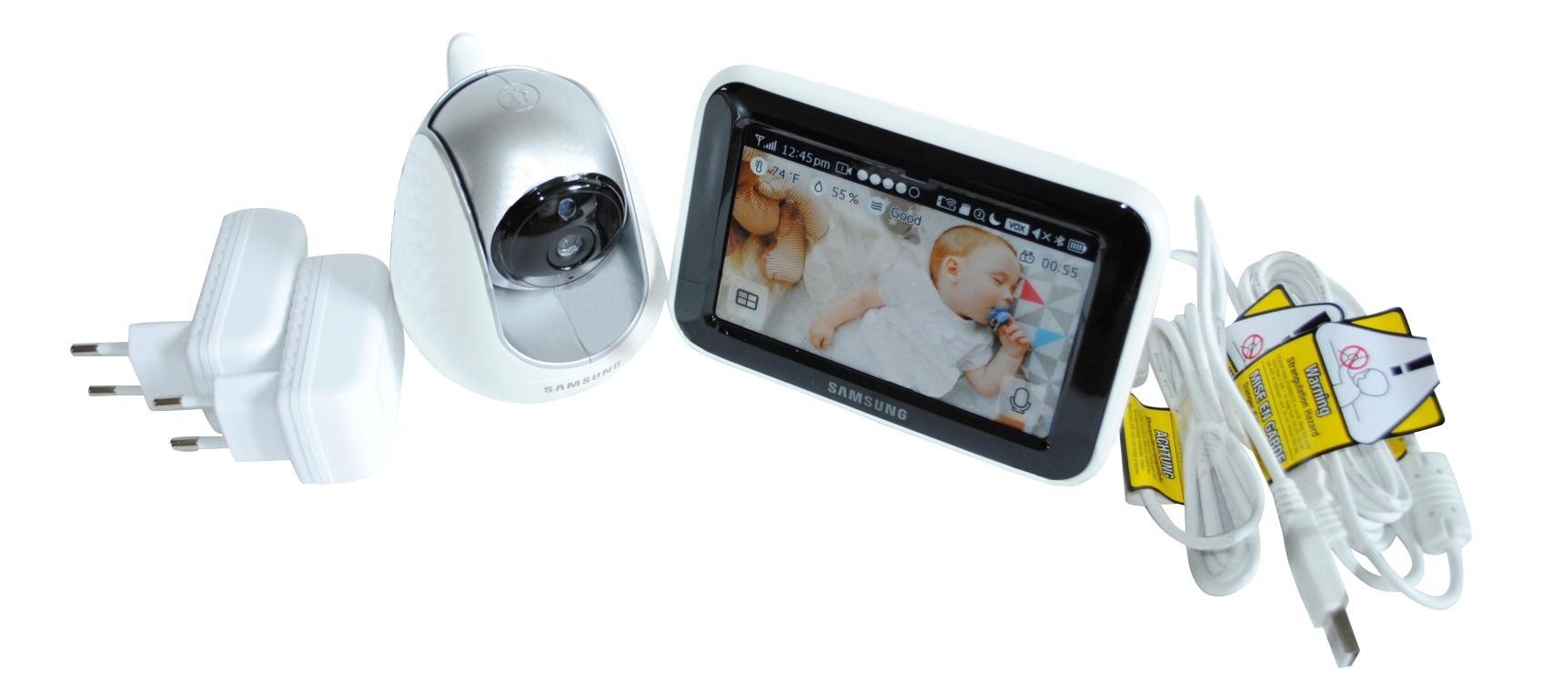 Купить Видеоняня цифровая Samsung Electronics SEW-3053WP, Видеоняни