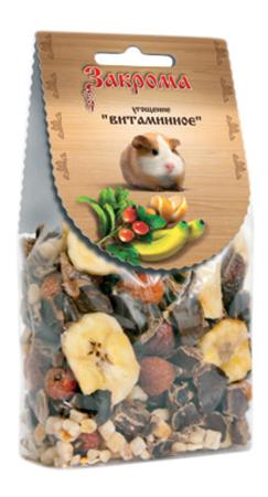 Лакомство для грызунов Закрома Угощение Витаминное 150г.