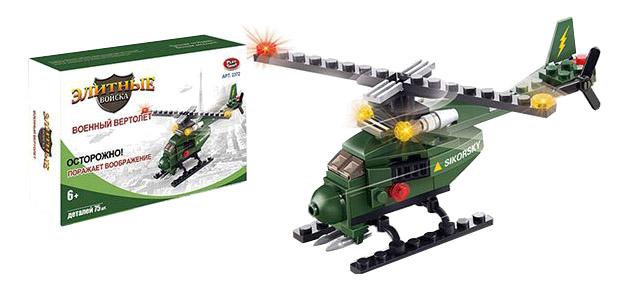 Купить Конструктор пластиковый Play Smart Элитные войска. Военный вертолет, PLAYSMART, Конструкторы пластмассовые