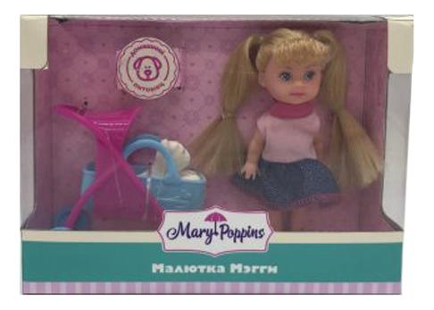 Кукла Mary Poppins Малютка Мегги прогулка с питомцем