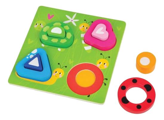 Купить Полянка, Mapacha Рамка-вкладыш Mapacha полянка 8 элементов 76669, Развивающие игрушки