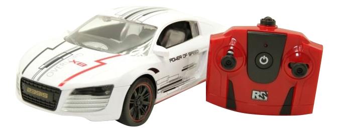 Машина на радиоуправлении Balbi спорткар 1:16 белый RCS-1601 WA