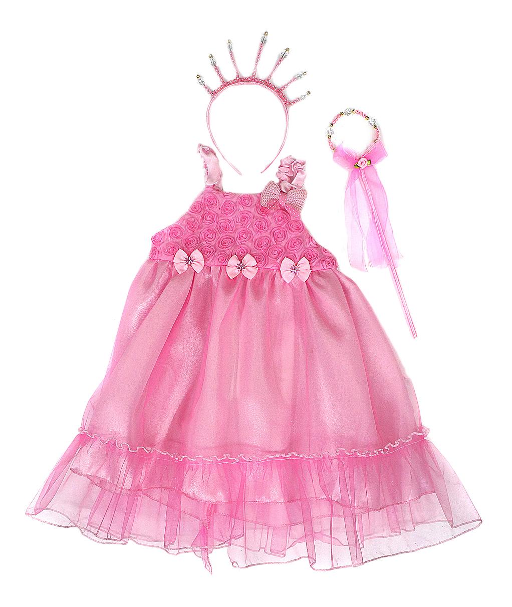 Карнавальный костюм Новогодняя сказка Принцесса платье