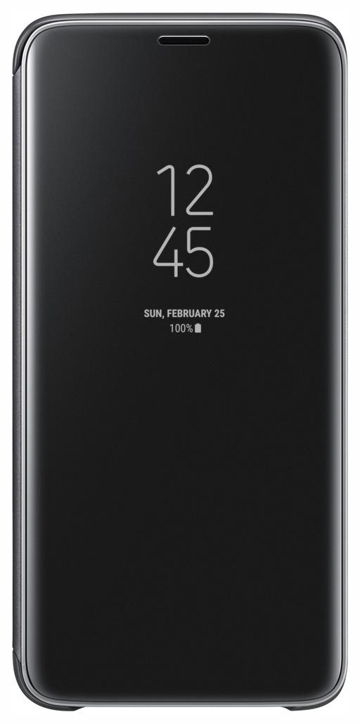 Чехол-книжка Samsung Clear View Standing Cover Black для Galaxy S9
