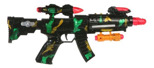Купить Военный автомат 43 см К27934, Военный Автомат 43 см Shenzhen Toys К27934, Стрелковое игрушечное оружие