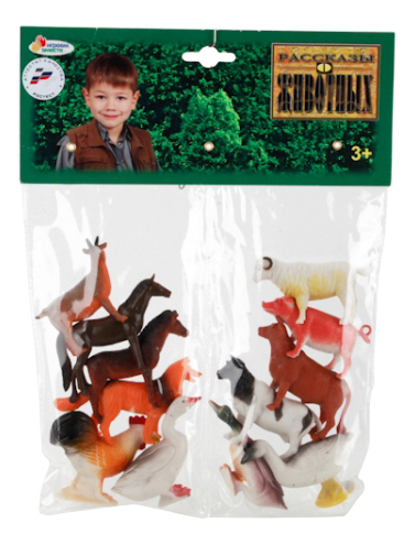 Купить Набор из 12 домашних животных Играем вместе HA2489, Играем Вместе, Фигурки животных