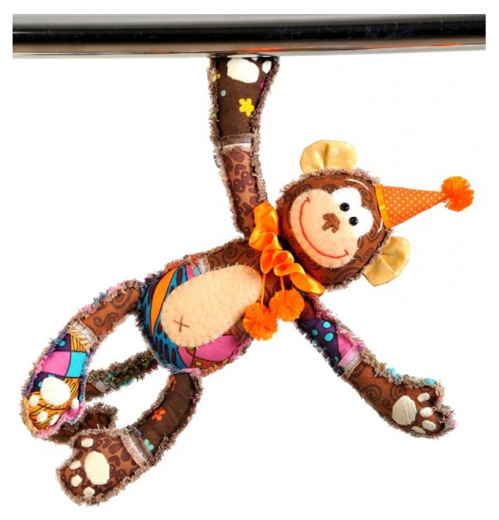 Купить Перловка Обезьянка Анфиса , Набор для изготовления текстильной игрушки Перловка Обезьянка Анфиса, Контэнт, Рукоделие