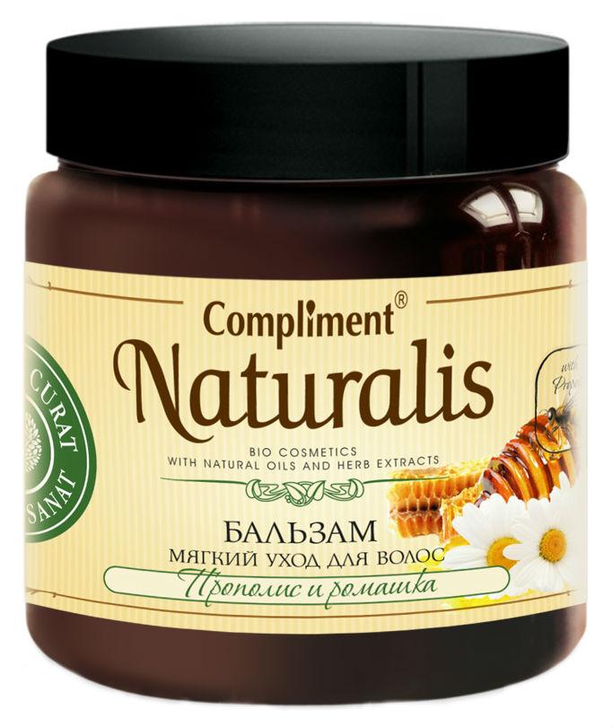 Бальзам для волос Compliment Naturalis Прополис и ромашка 500 мл