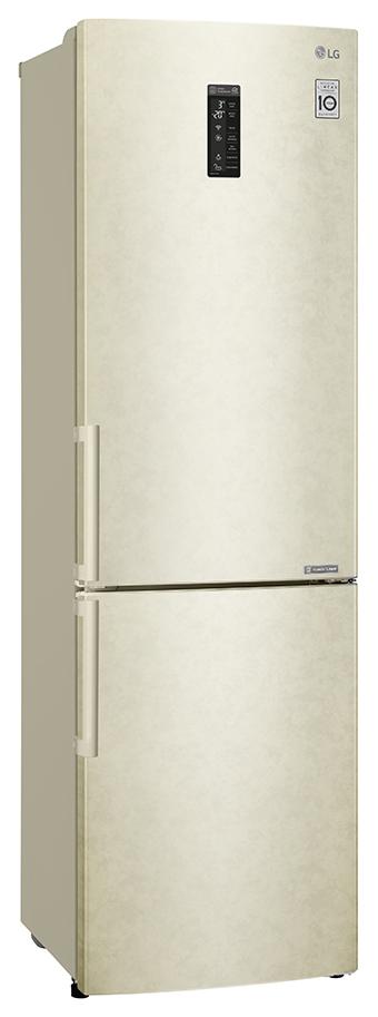 Холодильник LG GA B499YEQZ Beige