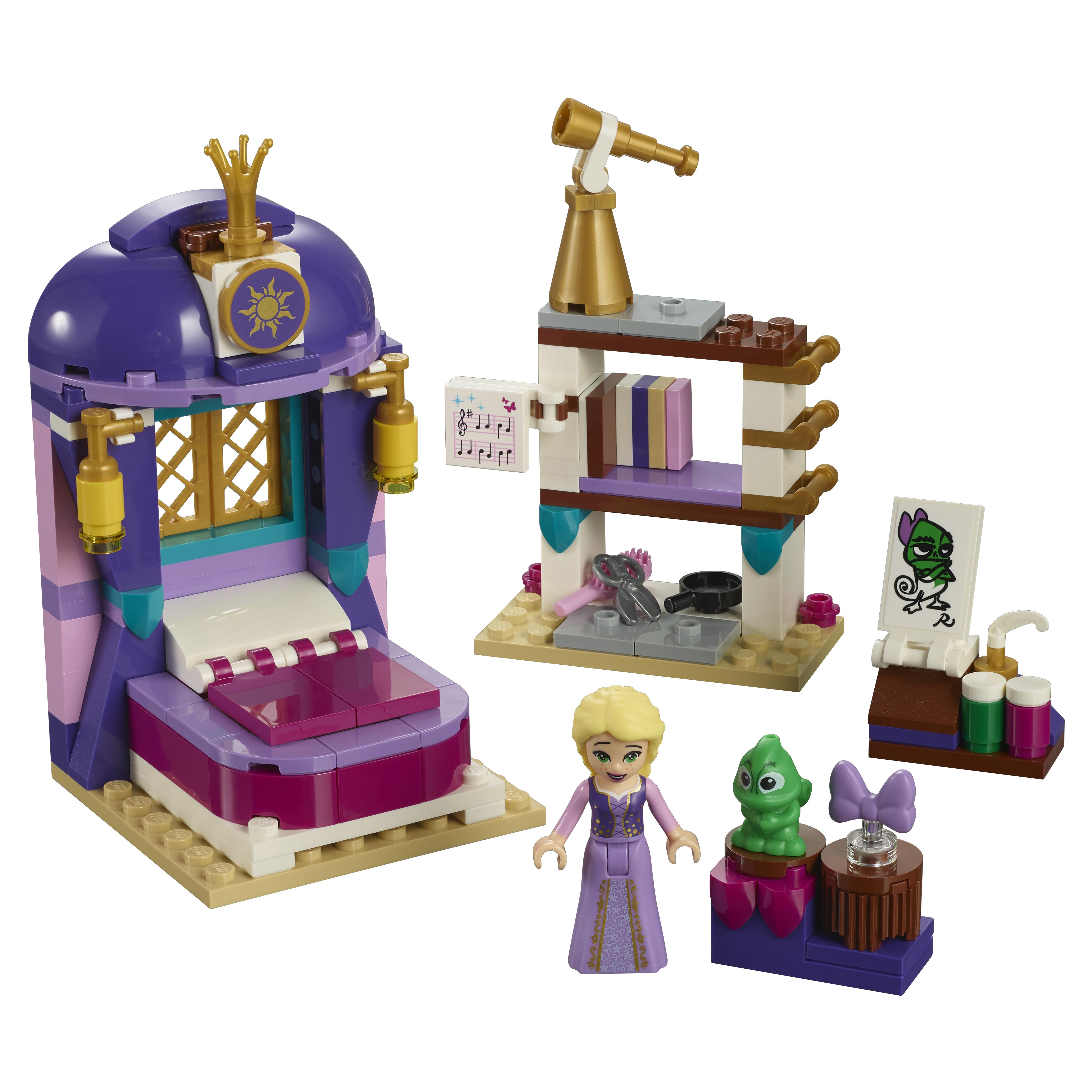 Конструктор LEGO Disney Princess Спальня Рапунцель в замке 41156 LEGO