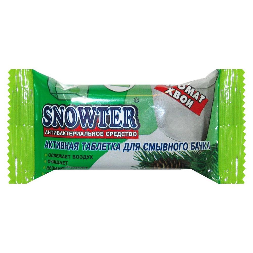 Таблетка Snowter для смывного бачка хвоя
