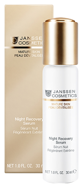 Купить Сыворотка для лица Janssen Night Recovery Serum 30 мл, Night Recovery Serum Anti-age ночная восстанавливающая