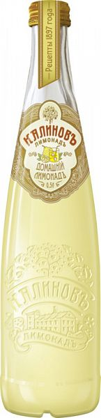 Лимонад Калиновъ домашній лимонадъ стекло 0.5 л фото