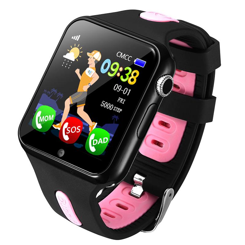 Детские смарт-часы Smart Baby Watch V5K Black/Black