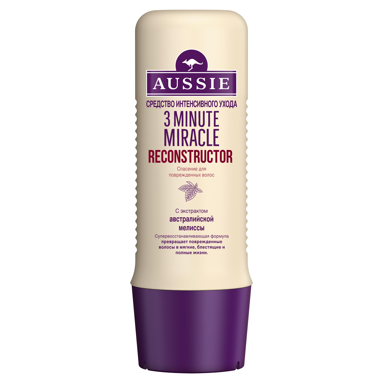 Купить Бальзам для волос Aussie Реконструктор волос 3 Minute Miracle 250 мл, бальзам для волос 81570263