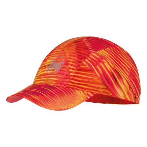 Кепка Buff Pro Run Cap Patterned красная