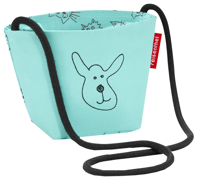 Сумка детская Minibag Cats and dogs mint Reisenthel для девочек Голубой IV4062 фото