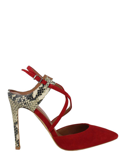 Туфли женские Lola Cruz красные фото