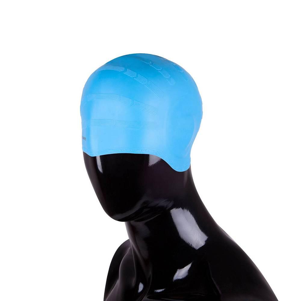 Шапочка для плавания Alpha Caprice SCU lt.blue фото