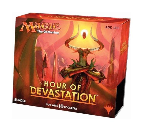 Купить Настольная игра Wizards of the Coast MTG: Час Разрушения Набор Bundle, Семейные настольные игры