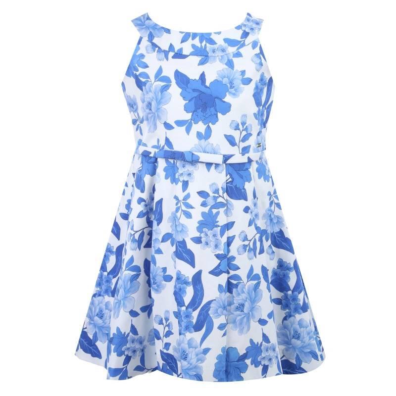 Купить Платье MAYORAL, цв. синий, 104 р-р, Детские платья и сарафаны