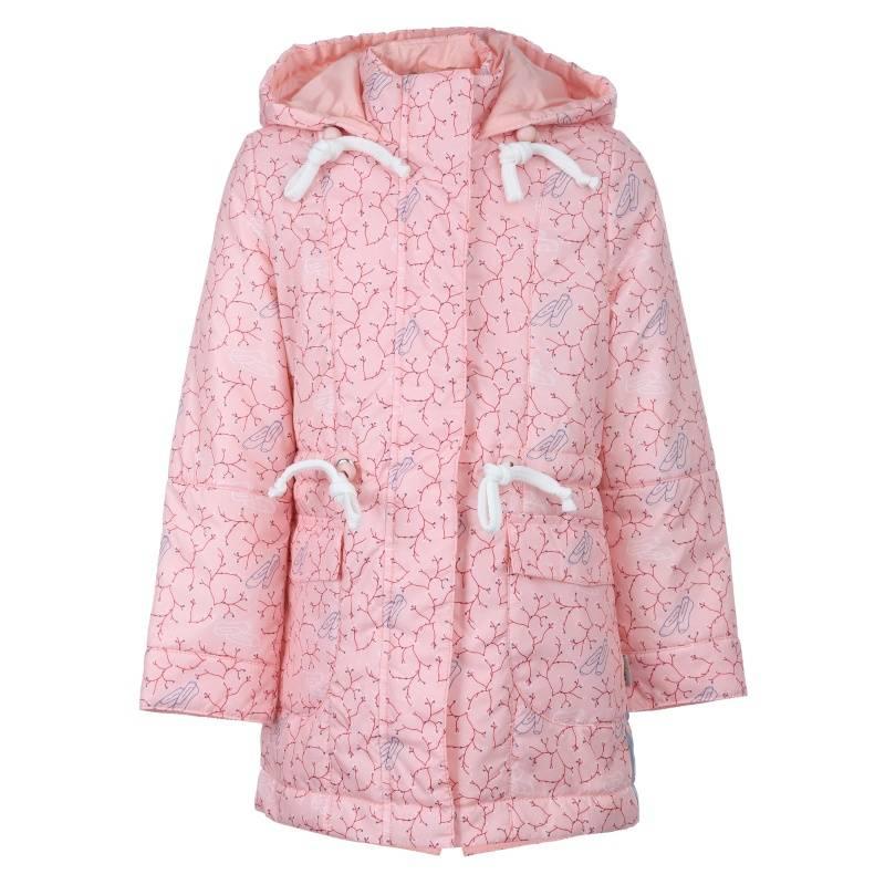 Купить 636, Куртка Виктория Emson, цв. розовый, 122 р-р, Куртки для девочек