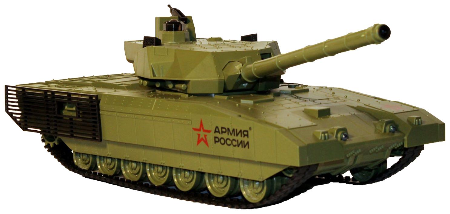 Танк радиоуправляемый Властелин небес Т-14 Армата, бой с Башней противника фото