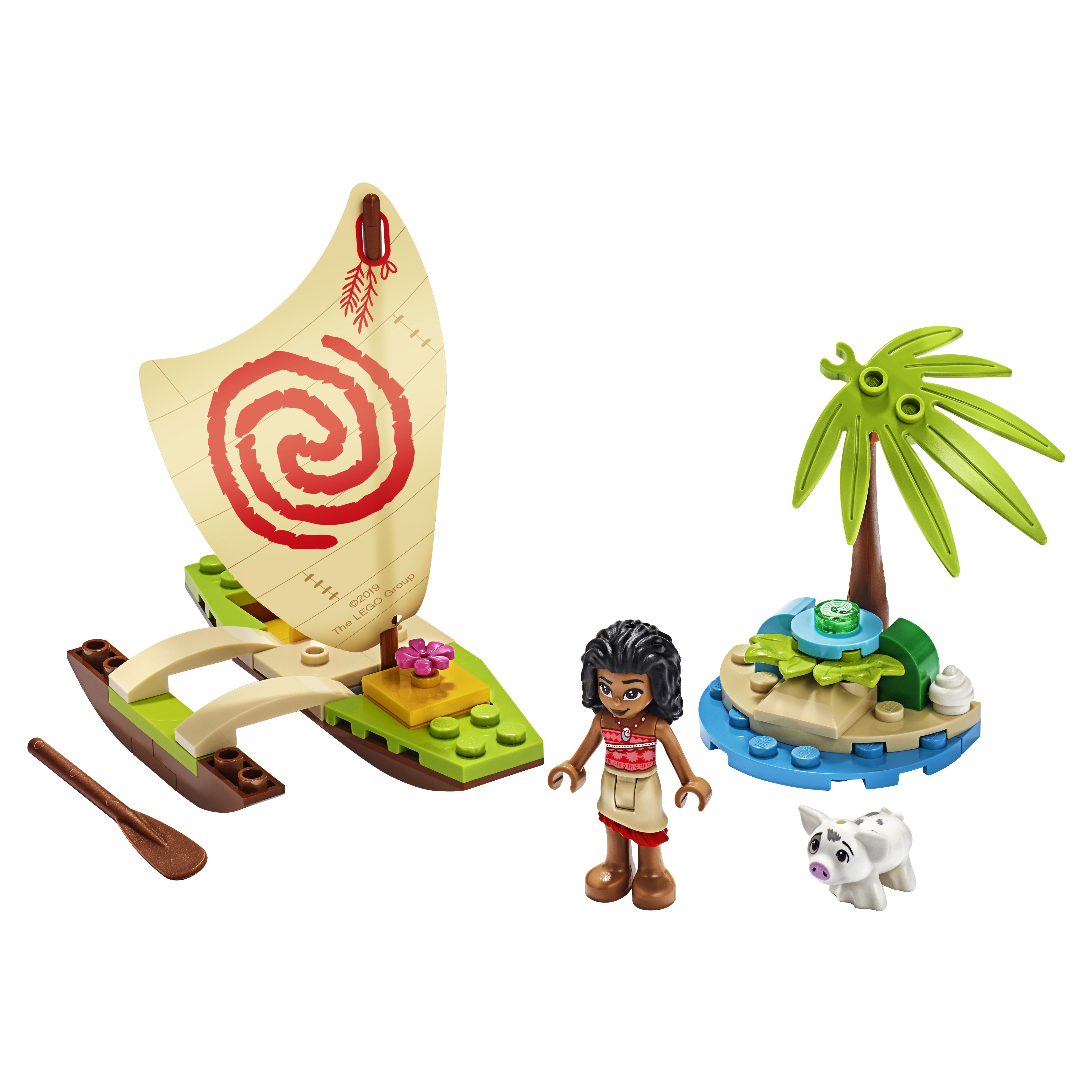Купить Конструктор LEGO Disney Princess 43170 Морские приключения Моаны, LEGO для девочек