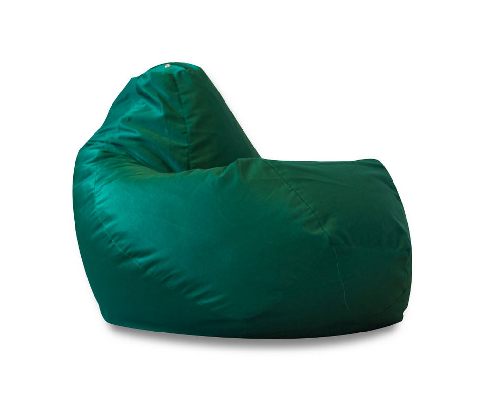 Кресло-мешок DreamBag Фьюжн, размер XXL, полиэстер, зеленый фото
