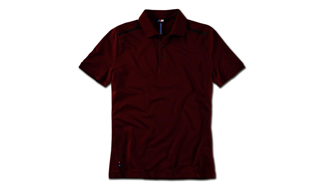 Мужская рубашка поло BMW 80142463075 Burgundy М