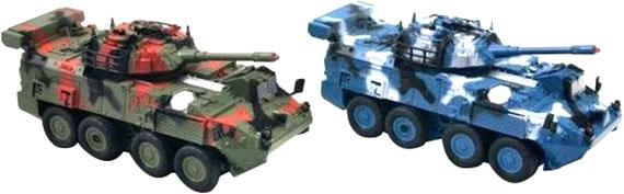 Радиоуправляемый танковый бой БТР A-Toys 333-ZJ11