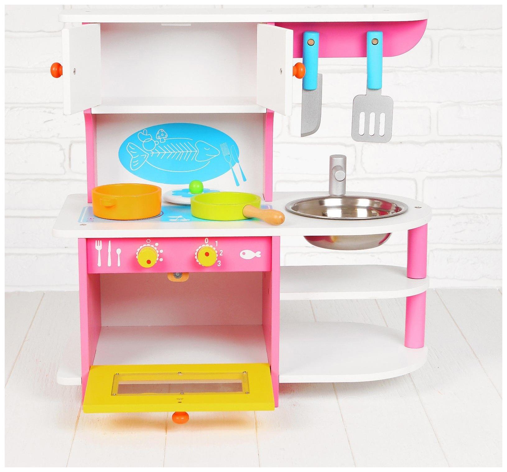 Купить Игровой набор Sima-land волшебная кухня, посудка в наборе msn15024, Детская кухня