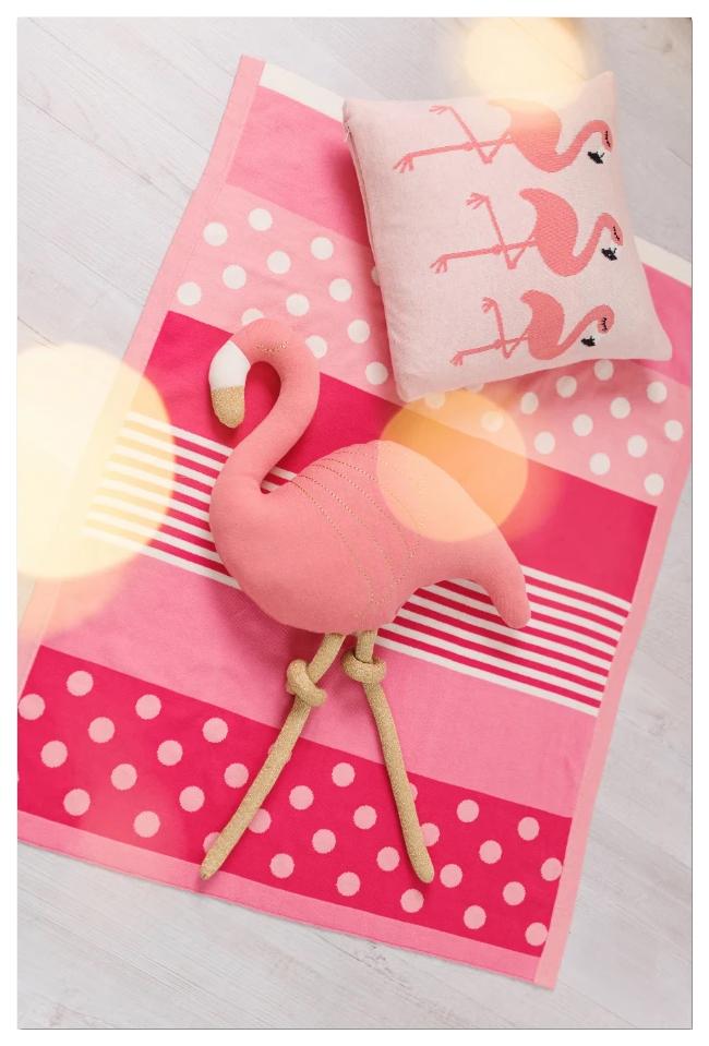 Купить Одеяло Bizzi Growin (Биззи Гровин) Kaleidoscope 70*90 вязанное BG026, Одеяла для новорожденных