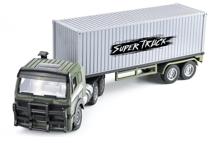 Радиоуправляемый контейнеровоз CityTruck 1:18 Zhoule Toys 551-B1