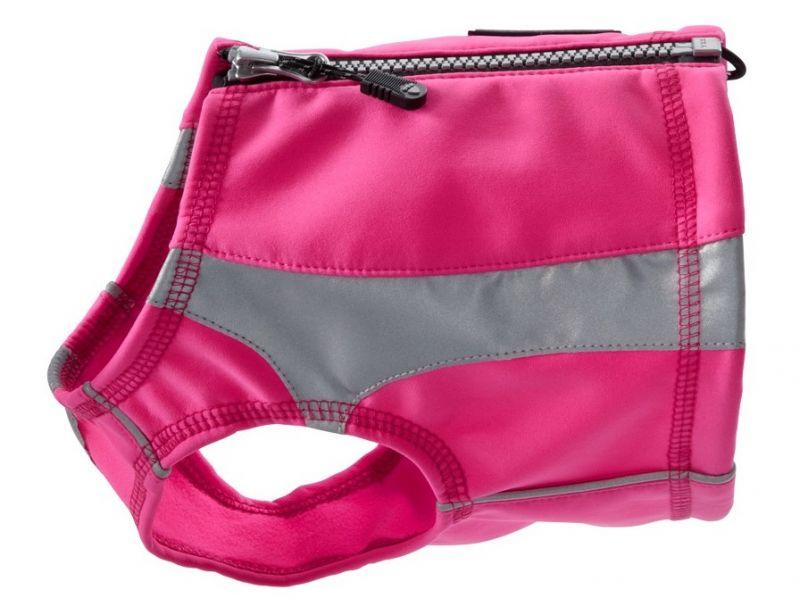 Жилет Hurtta Polar vest Полярный светоотражающий розовый для собак (XXL, Розовый)