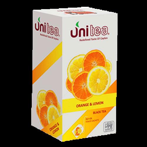 Чай черный Юнити лимон-апельсин 25*2 г фото