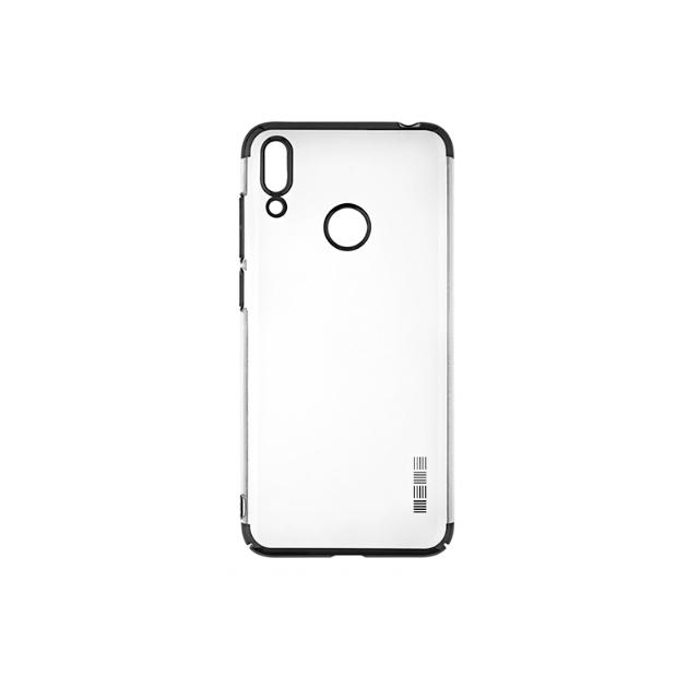 Чехол InterStep Decor для Huawei Y7 Prime 2019 black