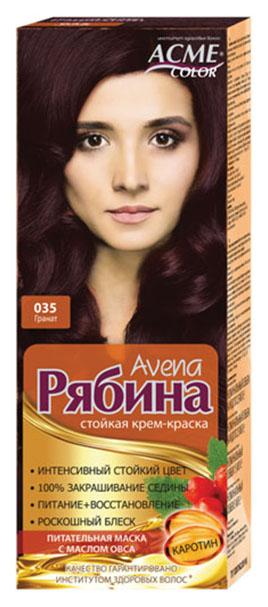 Купить Краска для волос Acme Color Рябина Avena 035 Гранат 135 мл