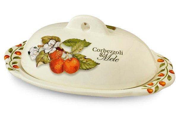 Маслёнка Итальянские фрукты Nuova Cer 34068