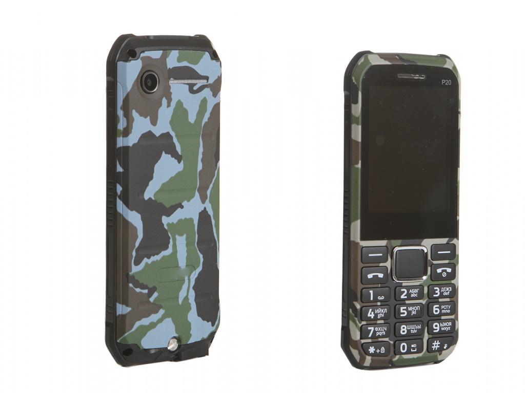 Мобильный телефон STRIKE P20 Military Green фото