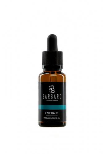 Парфюмированное масло для бороды Barbaro Emerald