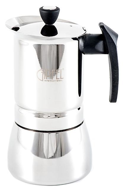 Гейзерная кофеварка Gipfel Vals 5330 Серый, черный фото