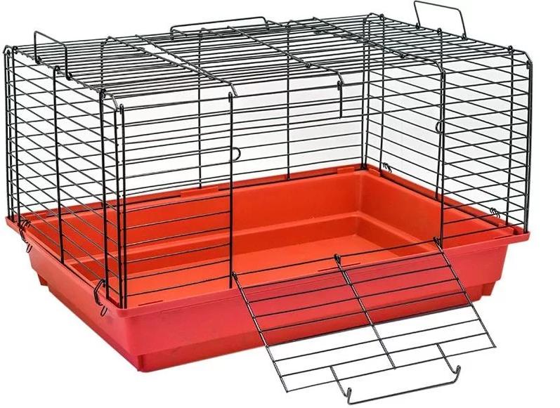 Клетка для кроликов Дарэлл 40х36х58см складная конструкция