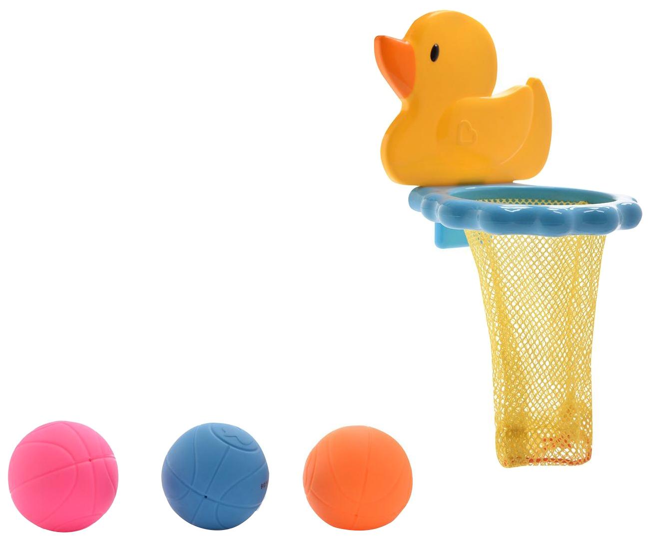 Купить Игрушки для ванны Munchkin new баскетбол утка от 12 мес /12, Игрушки для купания