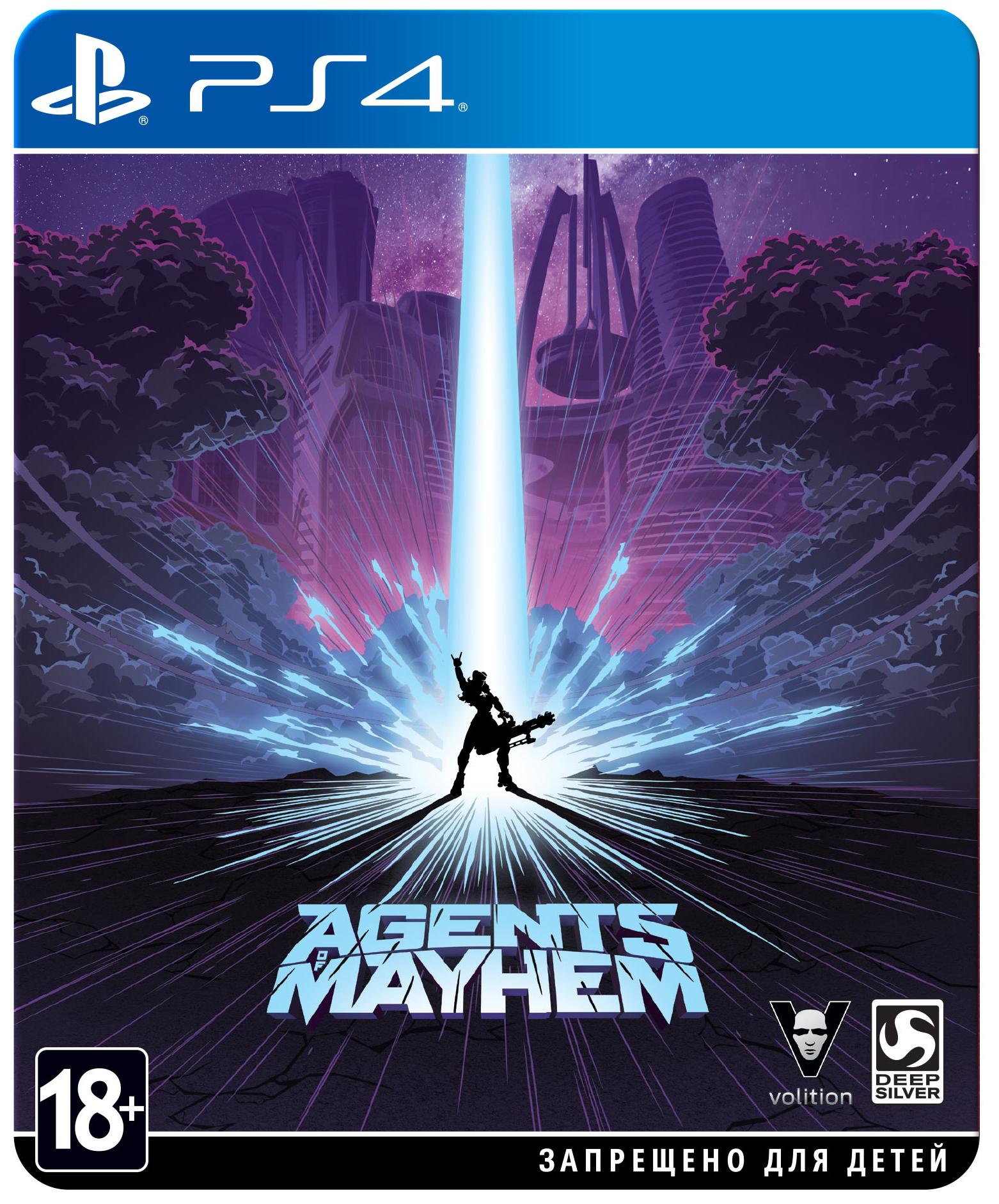 Игра для Sony PlayStation 4 Agents of Mayhem, Steelbook Edition
